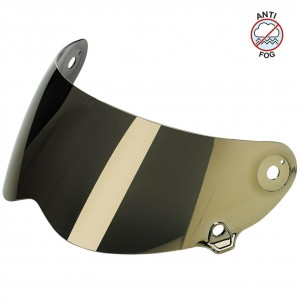 Biltwell Lane Splitter Anti-fog Face Shield Gold Mirror szyba do kasku Lane Splitter