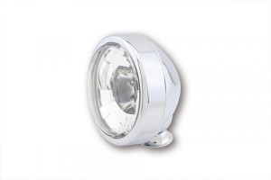"High beam headlight LED 4 1/2 "" black (1)"
