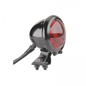 Taillight Bates LED black , red lens