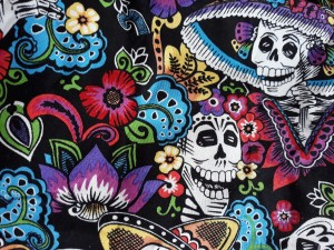 BANDAMA Day of the Dead Ball ROCKMOUNT TATOO CZACHY SCRAMBLER CHUSTA MOTOCYKLOWA HARLEY BOBBER (1)